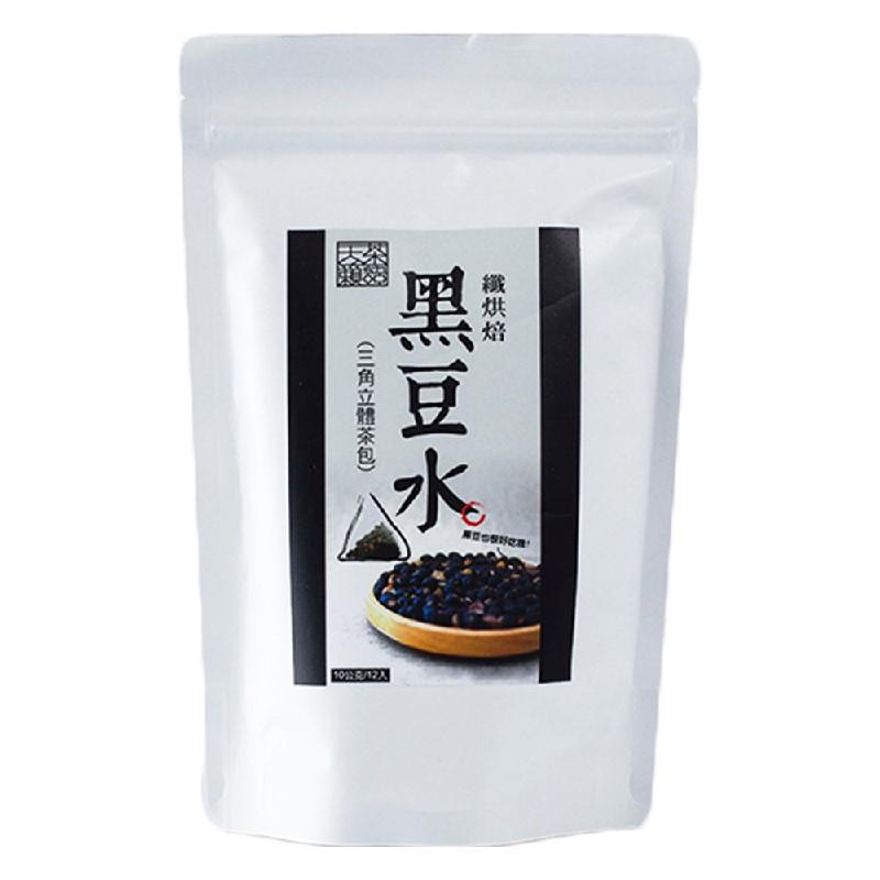 天籟茶語纖烘培黑豆水120G(10G*12入)*4袋