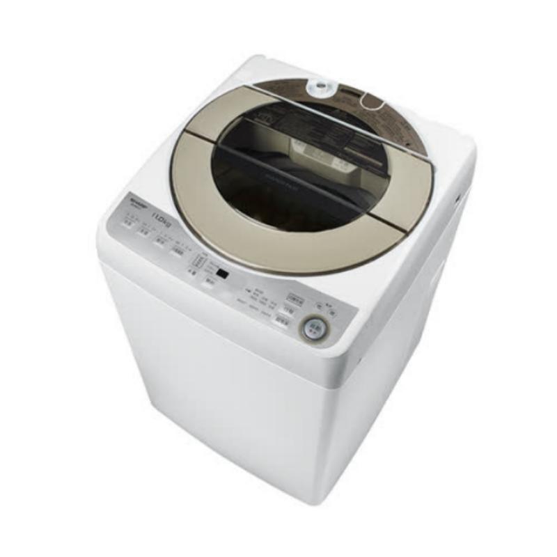 回函贈SHARP夏普11公斤變頻無孔槽洗衣機ES-ASF11T