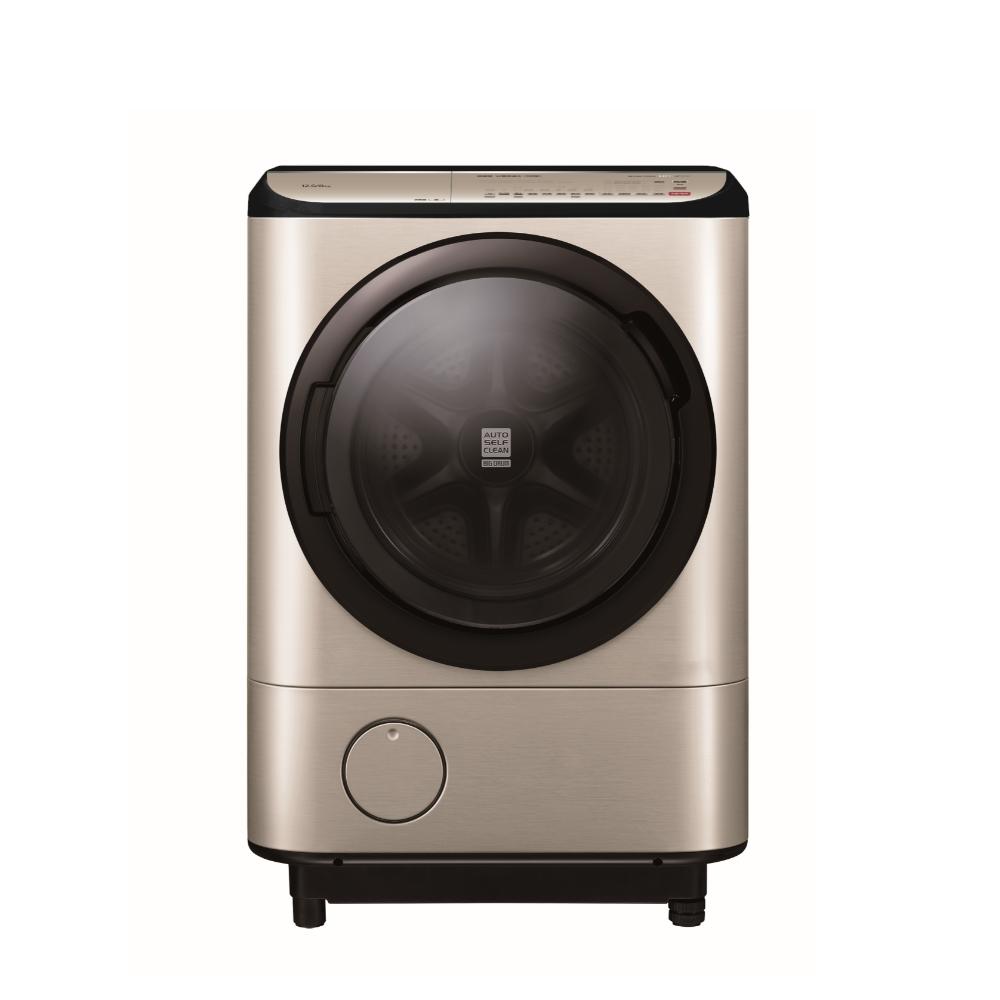 日立12.5公斤溫水滾筒(與BDNV125FH同款)右開洗衣機璀璨金BDNV125FHRN