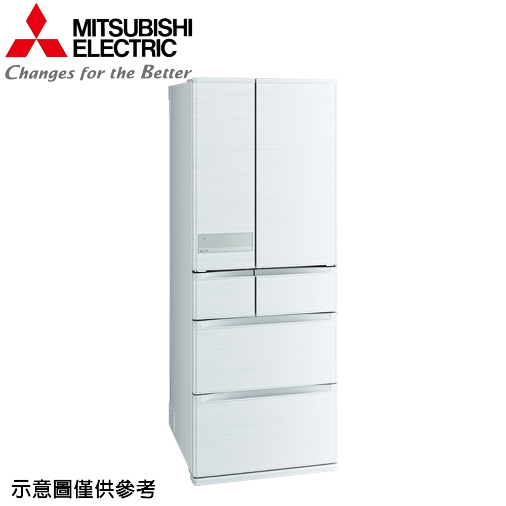 【MITSUBISHI 三菱】605公升日本原裝變頻六門冰箱MR-JX61C-W