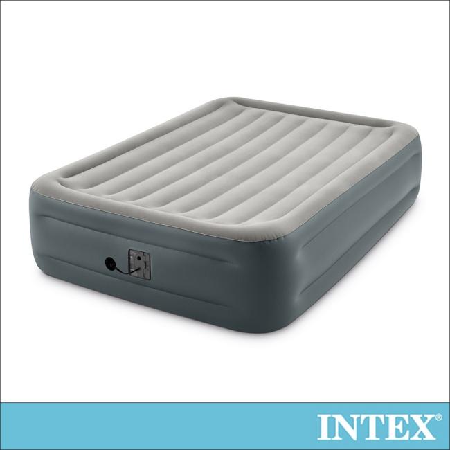 【INTEX】豪華加高雙人加大充氣床墊-寬152x高46cm(64125)