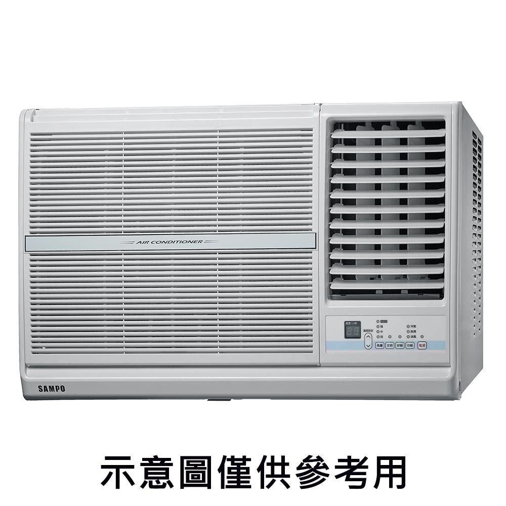 【SAMPO聲寶】10-13坪定頻右吹窗型冷氣 AW-PC63R