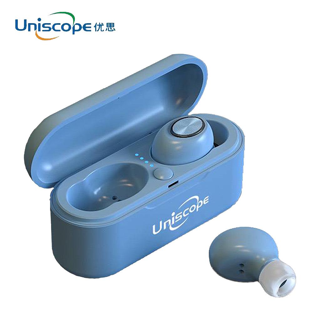 Uniscope優思 馬卡龍系列藍牙耳機-天空藍S20+(B)