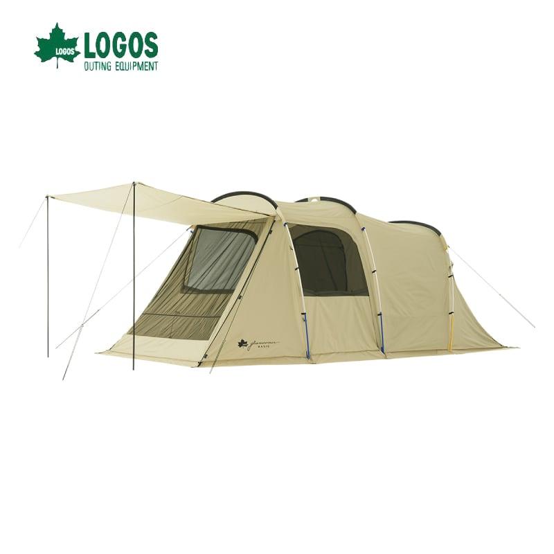 日本 LOGOS Basic經典 2-Room XL-AG 雙背五人帳篷 No.71805023
