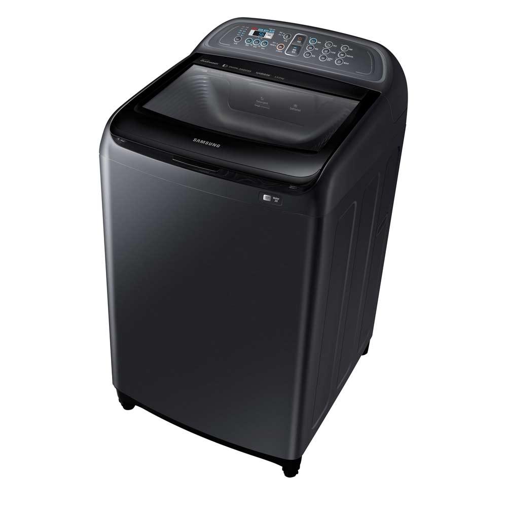【SAMSUNG三星】13公斤雙效手洗變頻洗衣機-奢華黑 WA13J5750SV/TW