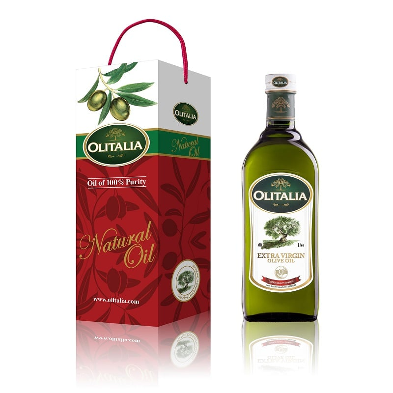 【奧利塔】初榨橄欖油禮盒1000ml