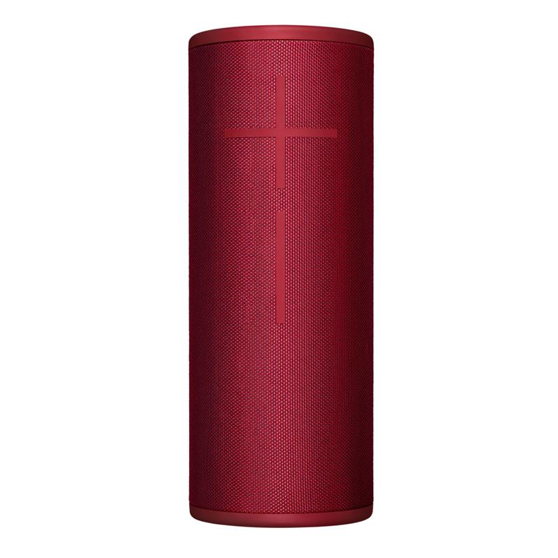 【UE 羅技 】Ultimate Ears 無線藍牙喇叭 MEGABOOM 3 豔陽紅