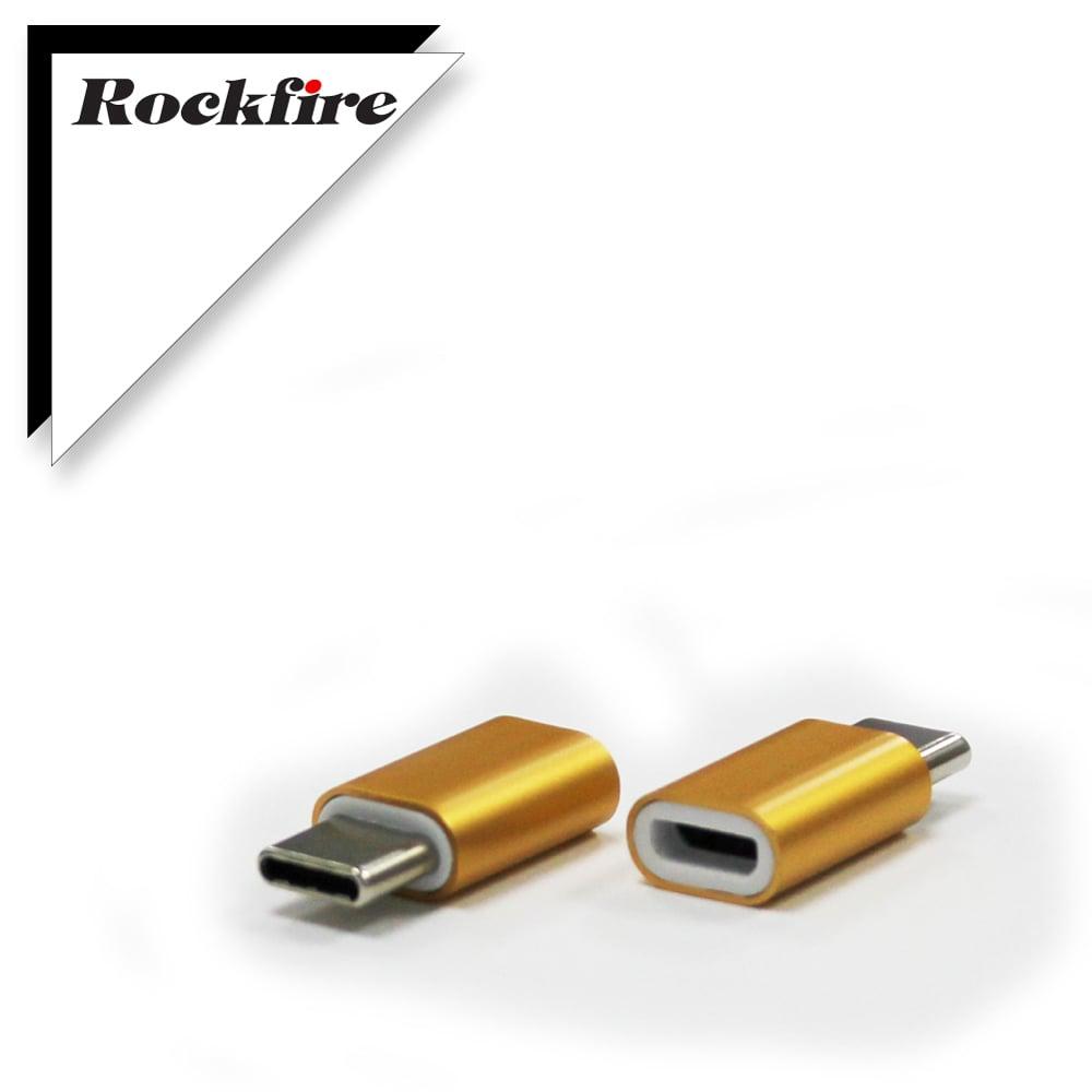 Rockfire USB3.1 Type-C 轉Micro USB轉接頭