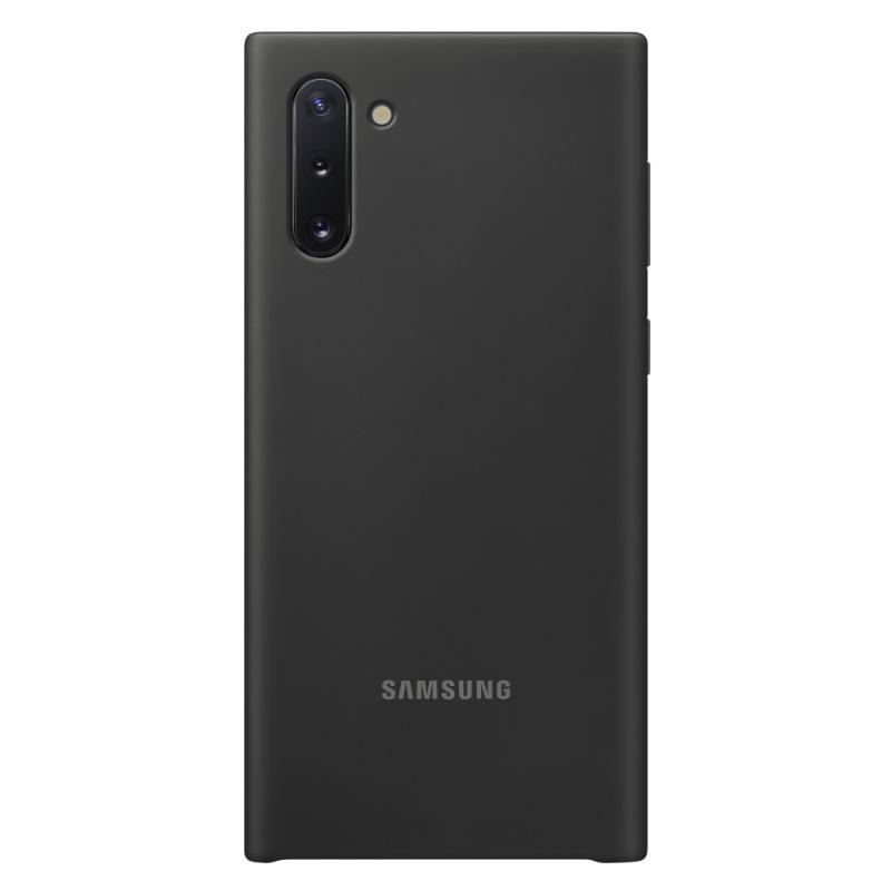 SAMSUNG Galaxy Note10 薄型背蓋 (矽膠材質)黑