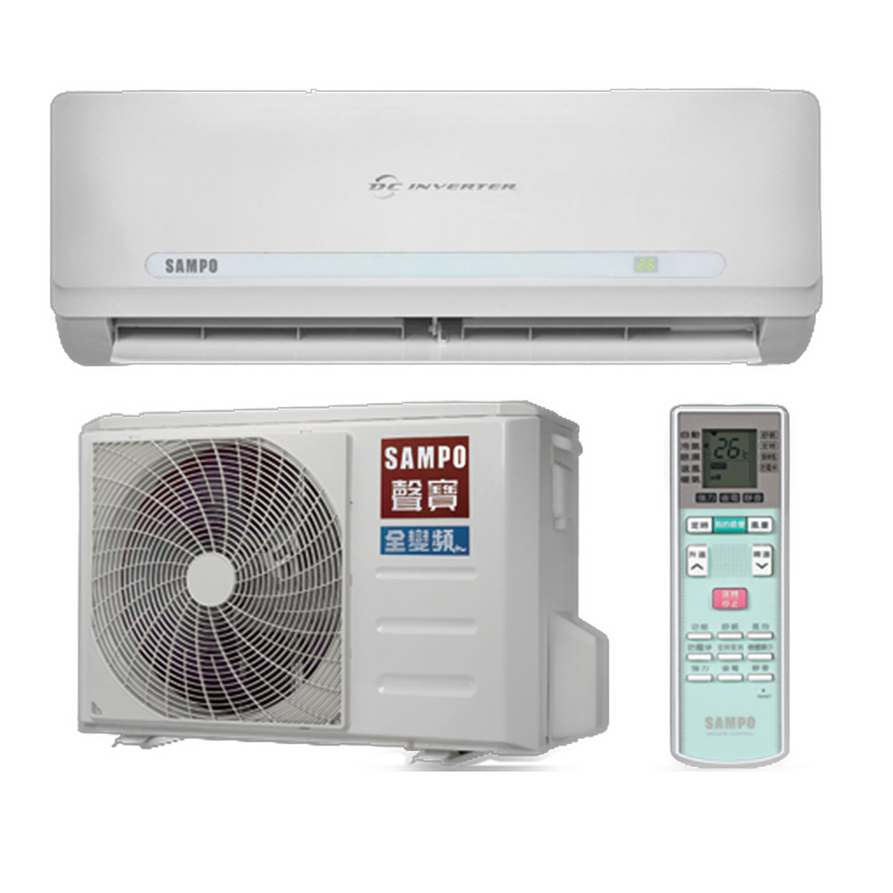 特殊賣場★含標準安裝★【SAMPO聲寶】變頻分離式冷氣AU-QC36D/AM-QC36D《5坪》