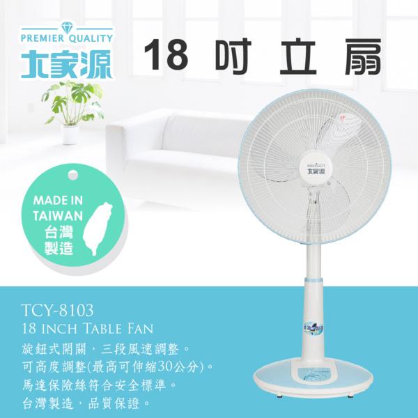 大家源 18吋立扇/電風扇 TCY-8103