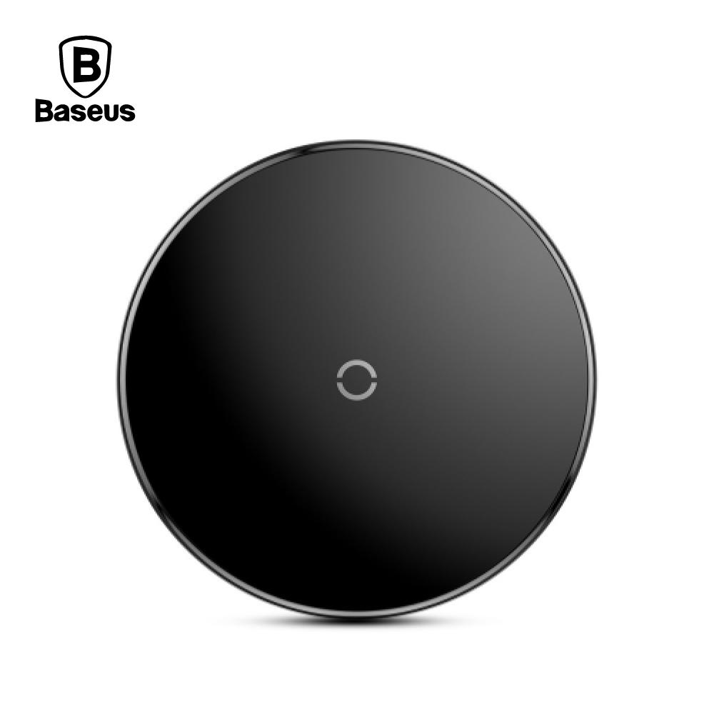 Baseus 倍思 極簡無線充充電器 - 黑色