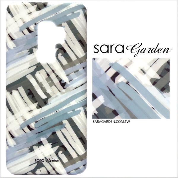 【Sara Garden】客製化 手機殼 Samsung 三星 A8Plus A8+ 2018 保護殼 硬殼 質感黑灰白