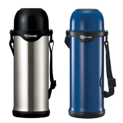 象印 1L不鏽鋼真空保溫瓶-AA藍色 SJ-TG10-AA