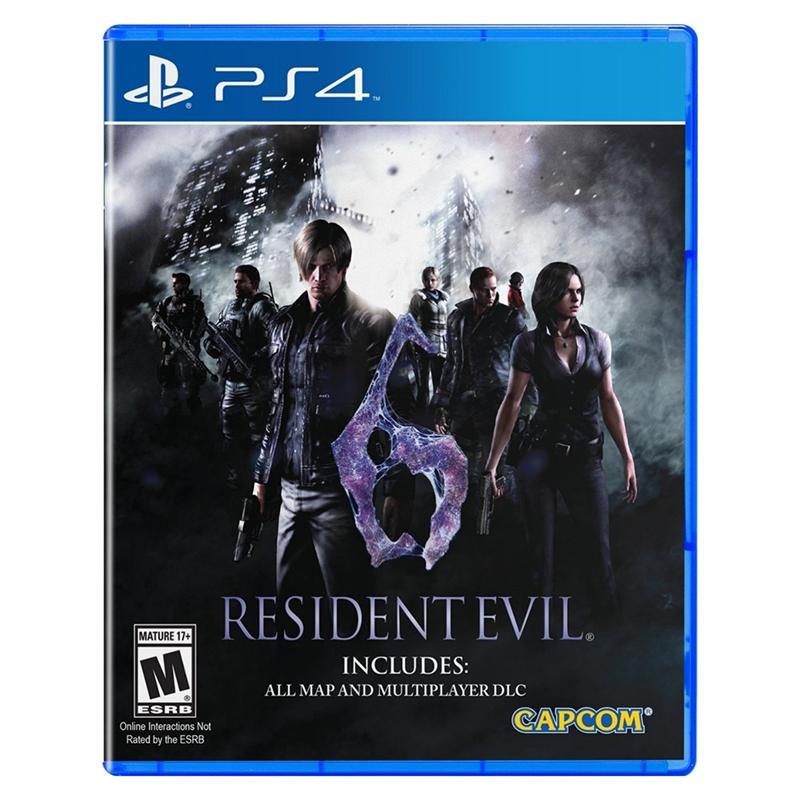 PS4 惡靈古堡 6_中文版