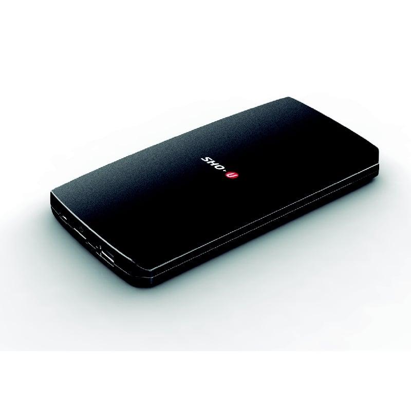 【SHO-U】防潑水超薄型高效率QI無線充電行動電源