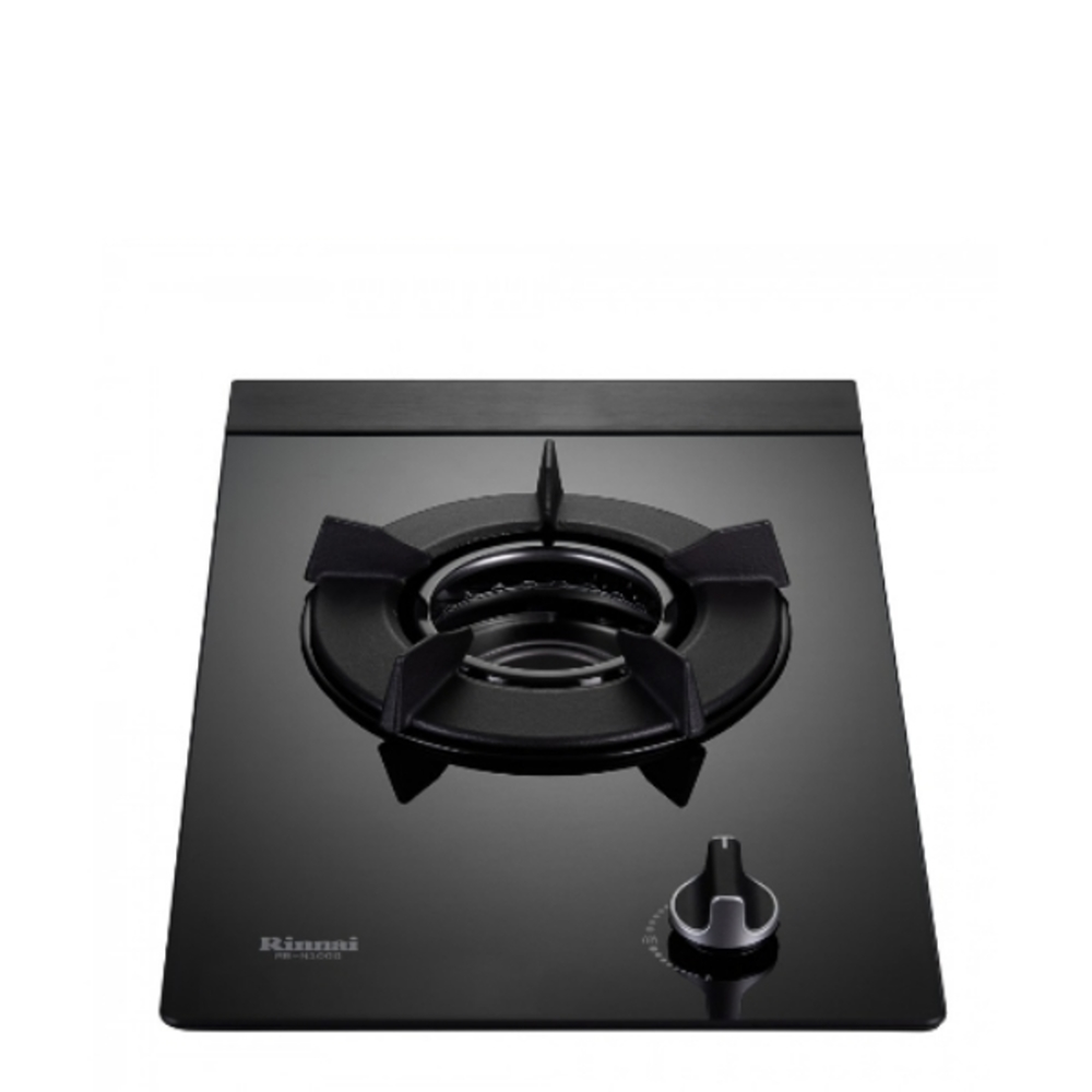 (全省安裝)林內單口內焰玻璃檯面爐內焰爐鑄鐵爐架黑色(與RB-N100G-B同款)瓦斯爐RB-N100G-B_LPG