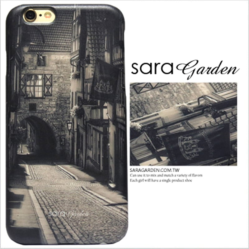 【Sara Garden】客製化 手機殼 Samsung 三星 A7 2017 復古 歐美 80年代 街景 保護殼 硬殼