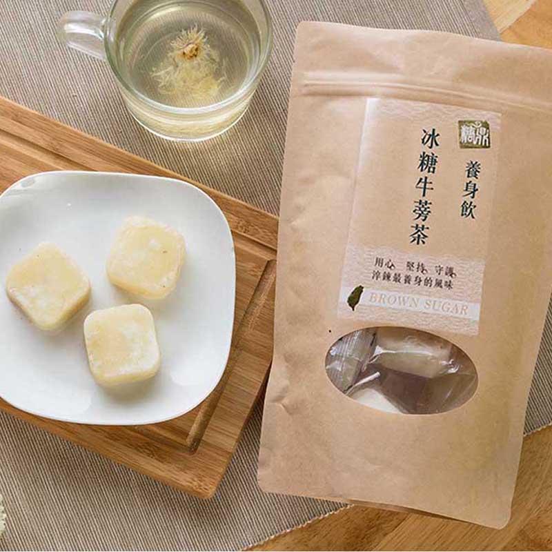 【糖鼎養生黑糖茶磚】超值三入組-牛蒡茶