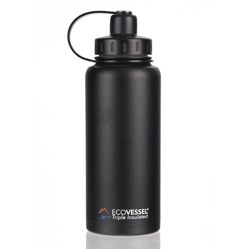 犀牛 RHINO  美國 Eco Vessel Boulder 不鏽鋼保溫水壺(946cc)-暗影黑