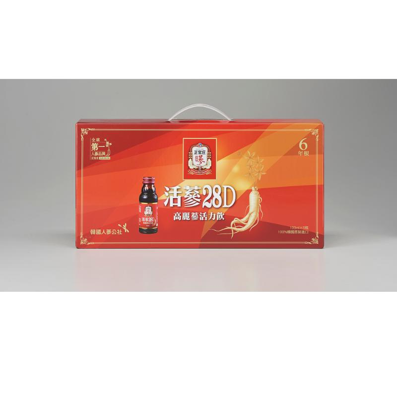 買一送一【正官庄】活蔘28D(100mlx8瓶/盒)共兩盒組