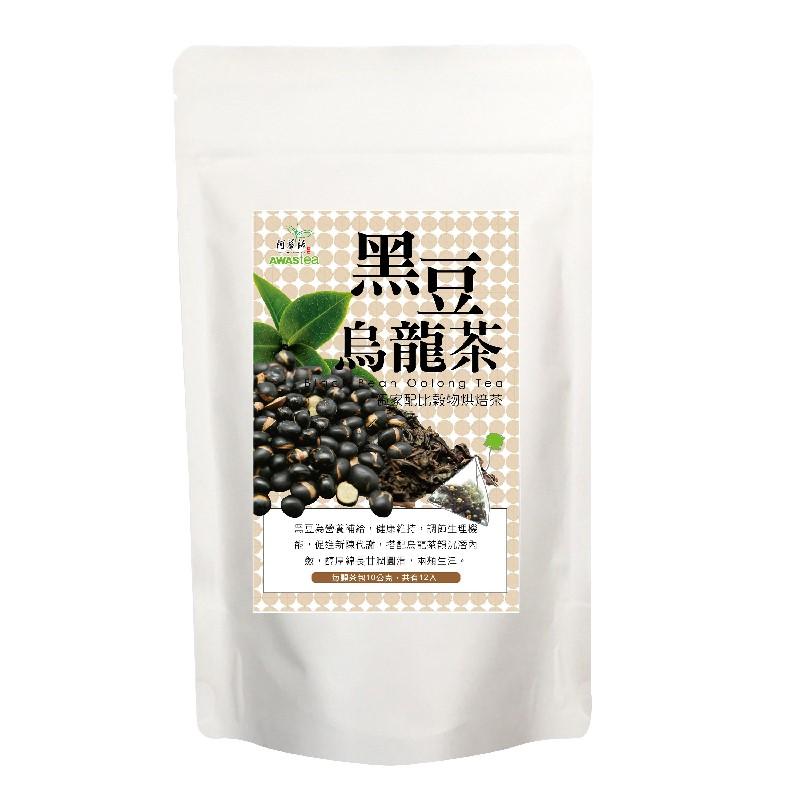 阿華師黑豆烏龍茶120G(10G*12入)*4袋