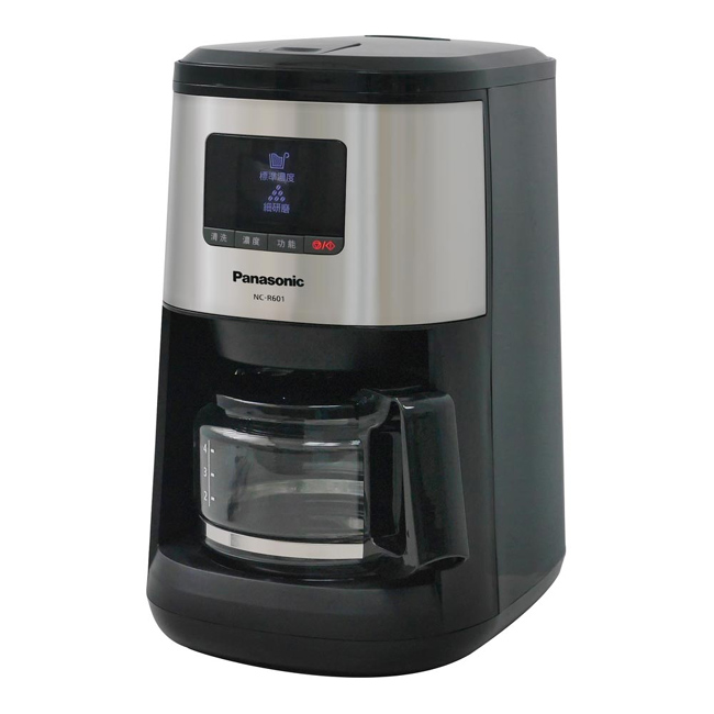 【Panasonic國際牌】4人份全自動研磨咖啡機 NC-R601