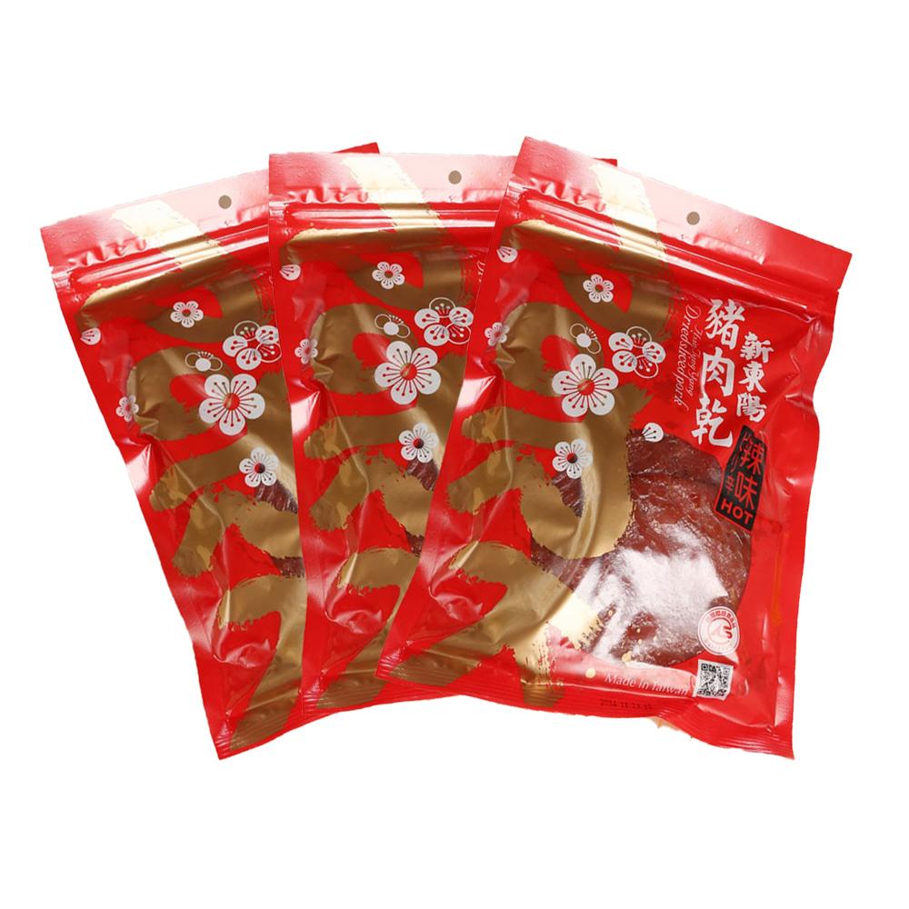 【新東陽】辣味豬肉乾 (275g*3包)