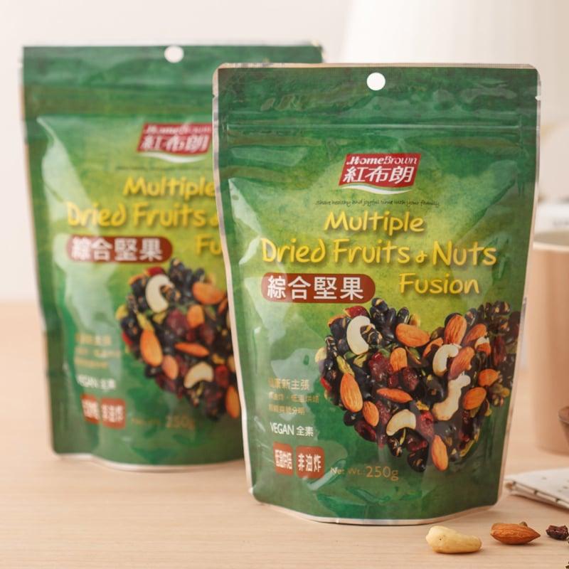 【紅布朗】綜合堅果 250g(袋裝)X3袋