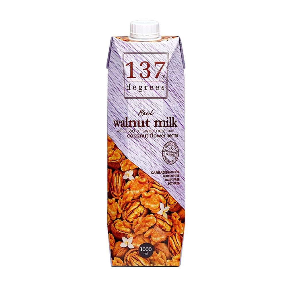 【137degrees】核桃飲x4瓶(1000ml/瓶)