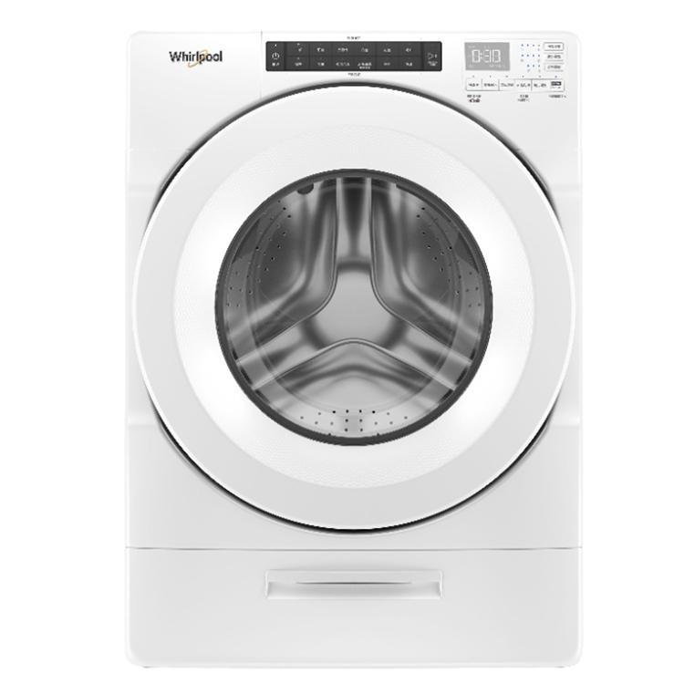(獨家)買就送歐可林電動牙刷【Whirlpool惠而浦】17公斤 17KG 溫熱水滾筒洗衣機 8TWFW5620HW