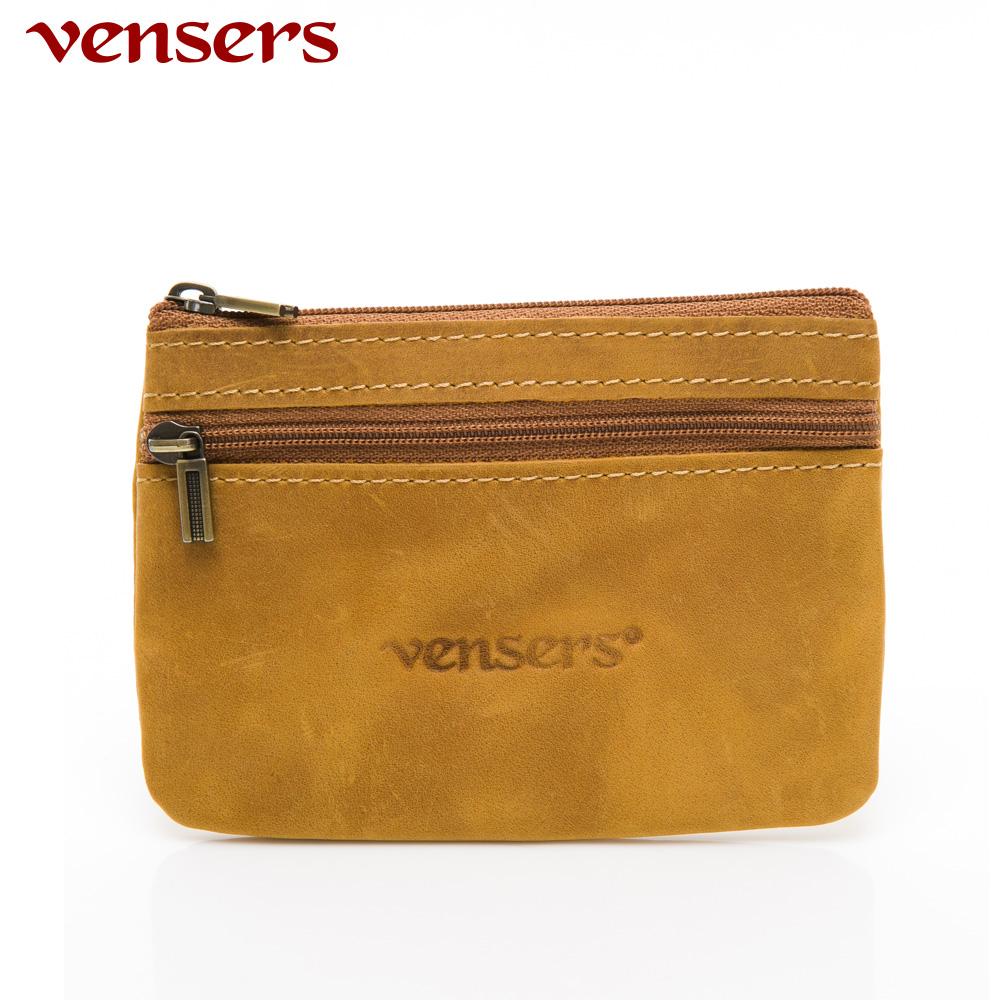 【vensers】小牛皮鑰匙零錢包~(NB1030201淺瘋馬皮)