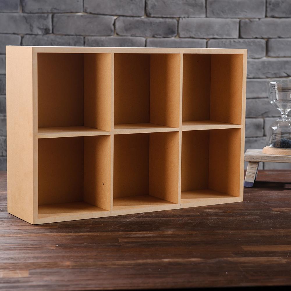 新環保6格置物盒-生活工場
