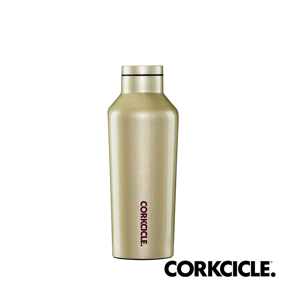美國CORKCICLE Unicorn Magic系列三層真空易口瓶/保溫瓶270ml-香檳金