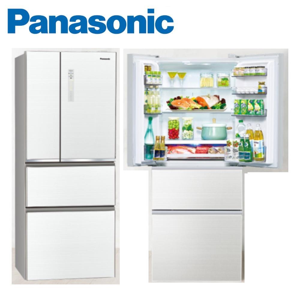 PANASONIC國際牌 500公升四門變頻smart玻璃電冰箱 翡翠白 NR-D500NHGS-W