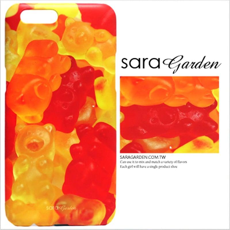 【Sara Garden】客製化 手機殼 OPPO R11 Plus r11+ QQ小熊軟糖 曲線 手工 保護殼 硬殼