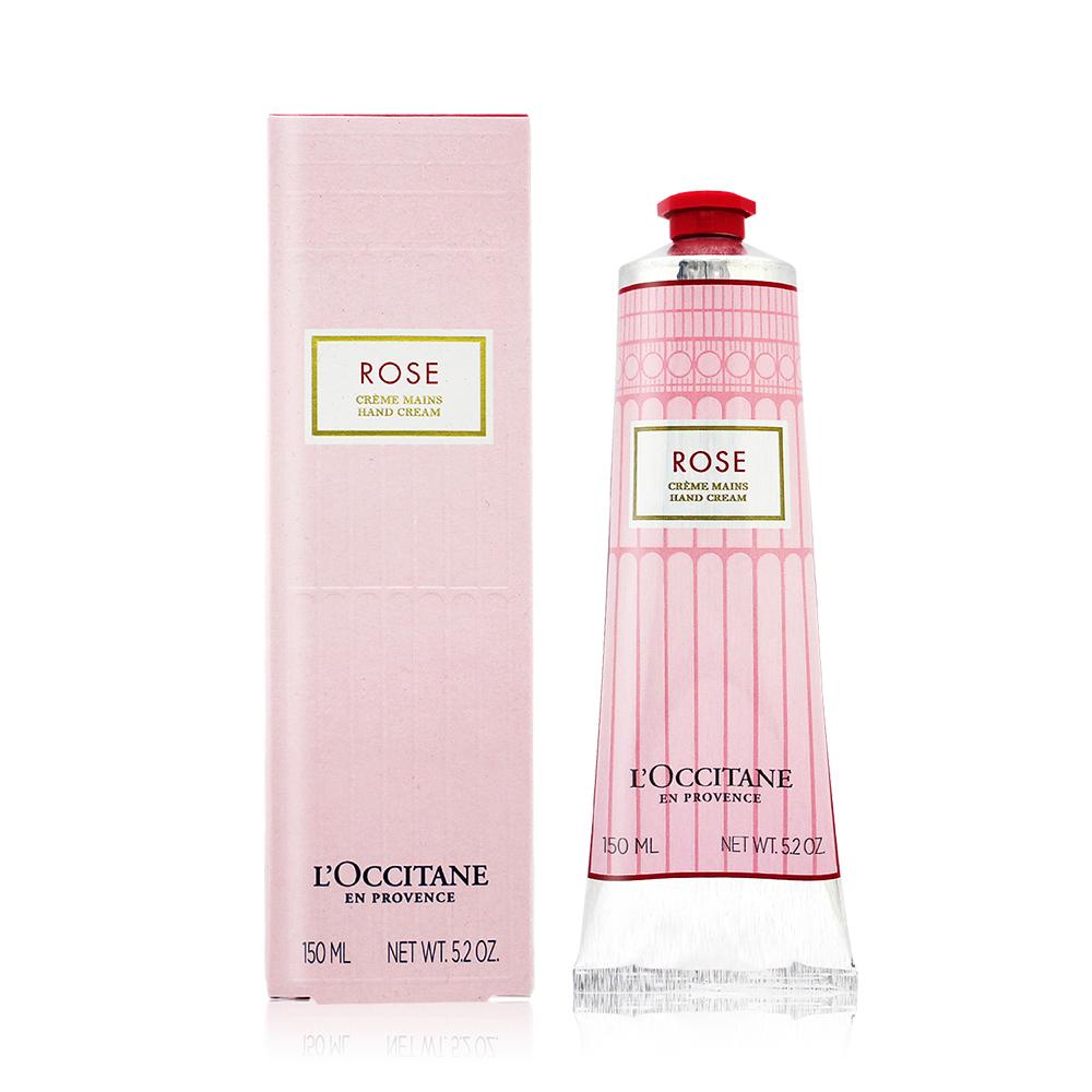 L'OCCITANE 歐舒丹 玫瑰花園護手霜(150ml)-國際航空版