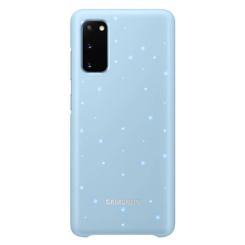SAMSUNG Galaxy S20 5G LED智慧背蓋 天空藍