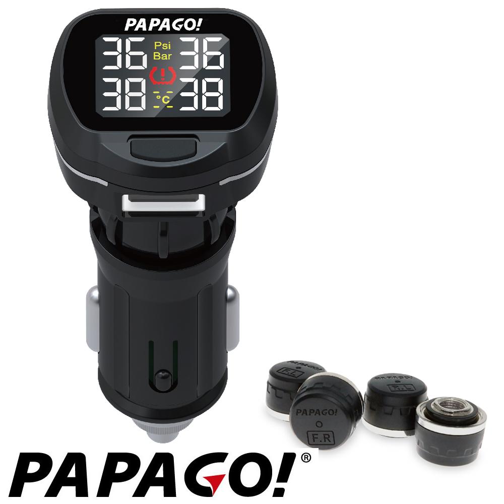 PAPAGO TireSafe S22E 獨立型胎外式胎壓偵測器