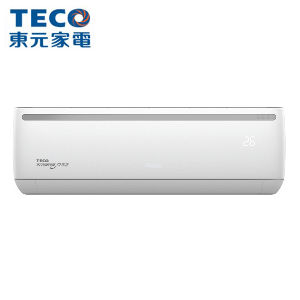 【TECO 東元】15-16坪 R32變頻冷專分離式冷氣 MA80IC-ZRS/MS80IC-ZRS