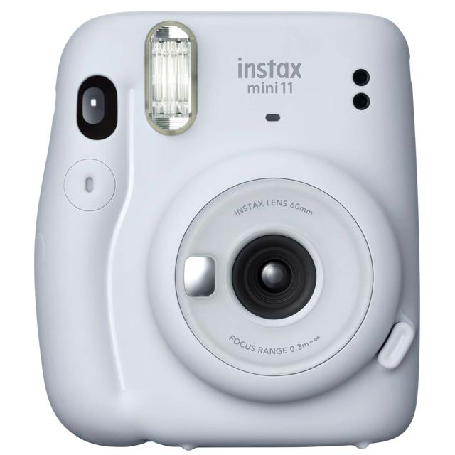 FUJIFILM instax mini 11 拍立得相機 送束口袋 (公司貨) - 冰晶白