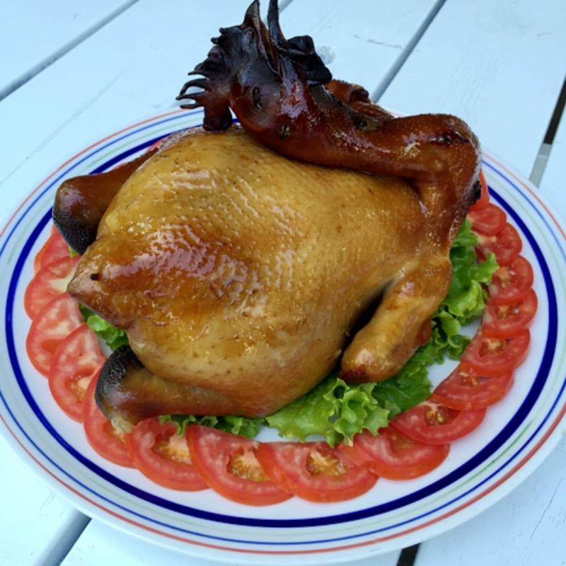 [桃園]香草烤雞餐(4人套票)-富田花園農場
