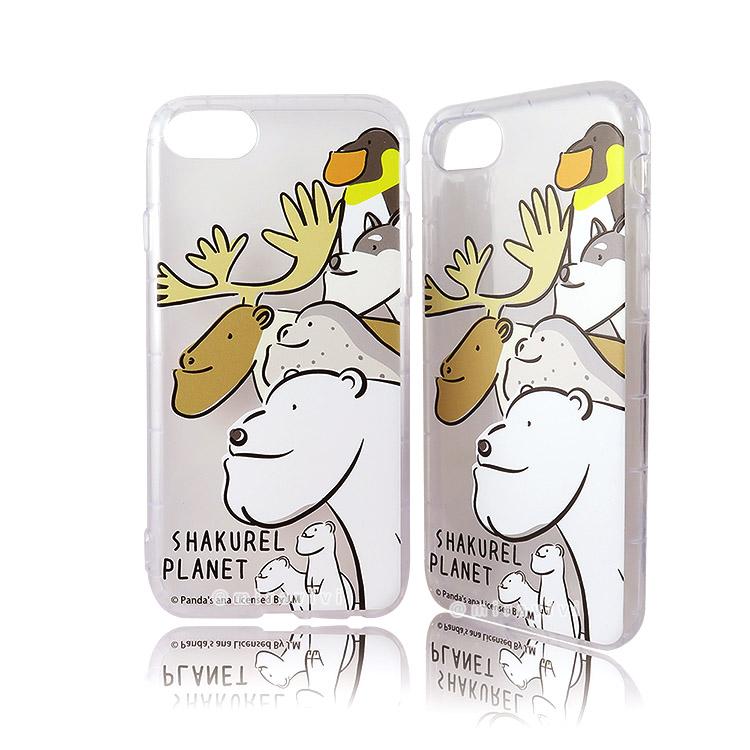 戽斗星球 iPhone 6s/7/8(4.7吋)共用防摔空壓保護殼套_北極熊大集合