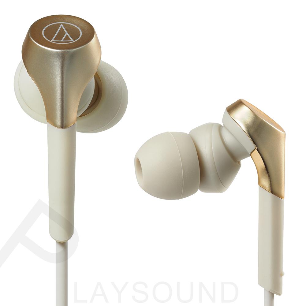 鐵三角 ATH-CKS550X 香檳金 重低音 耳道式耳機