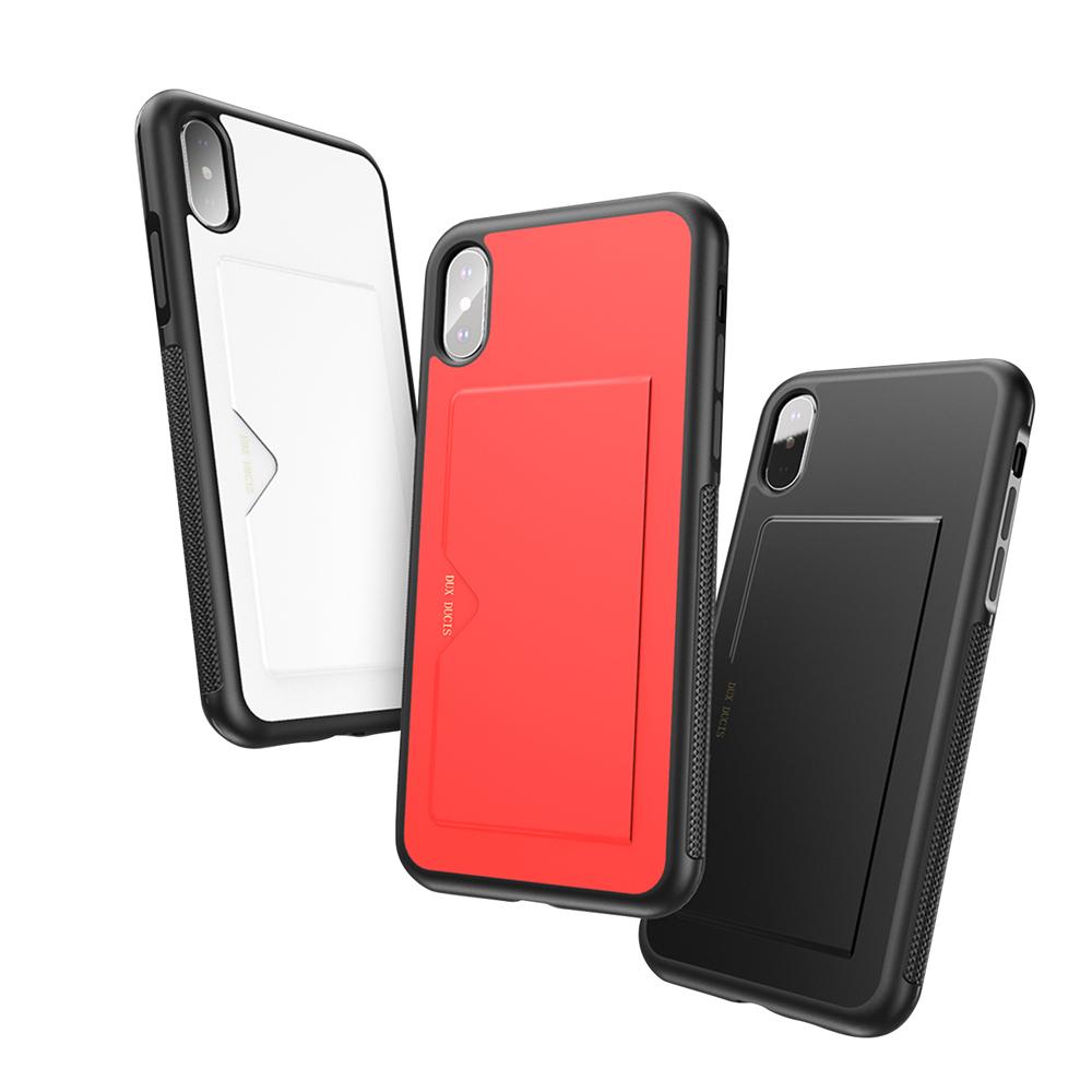 DUX DUCIS Apple iPhone Xs Max POCARD 後卡殼(紅色)