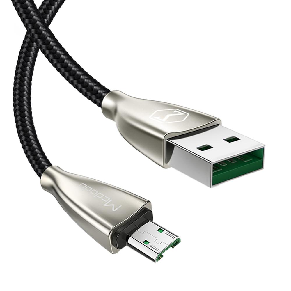 【Mcdodo台灣官方】安卓 Micro 充電線 4A 閃充 傳輸線 快充 卓越系列 150cm 黑色