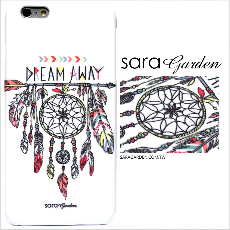 【Sara Garden】客製化 手機殼 HTC 826 手繪 捕夢網 羽毛 流蘇 保護殼 硬殼 限定