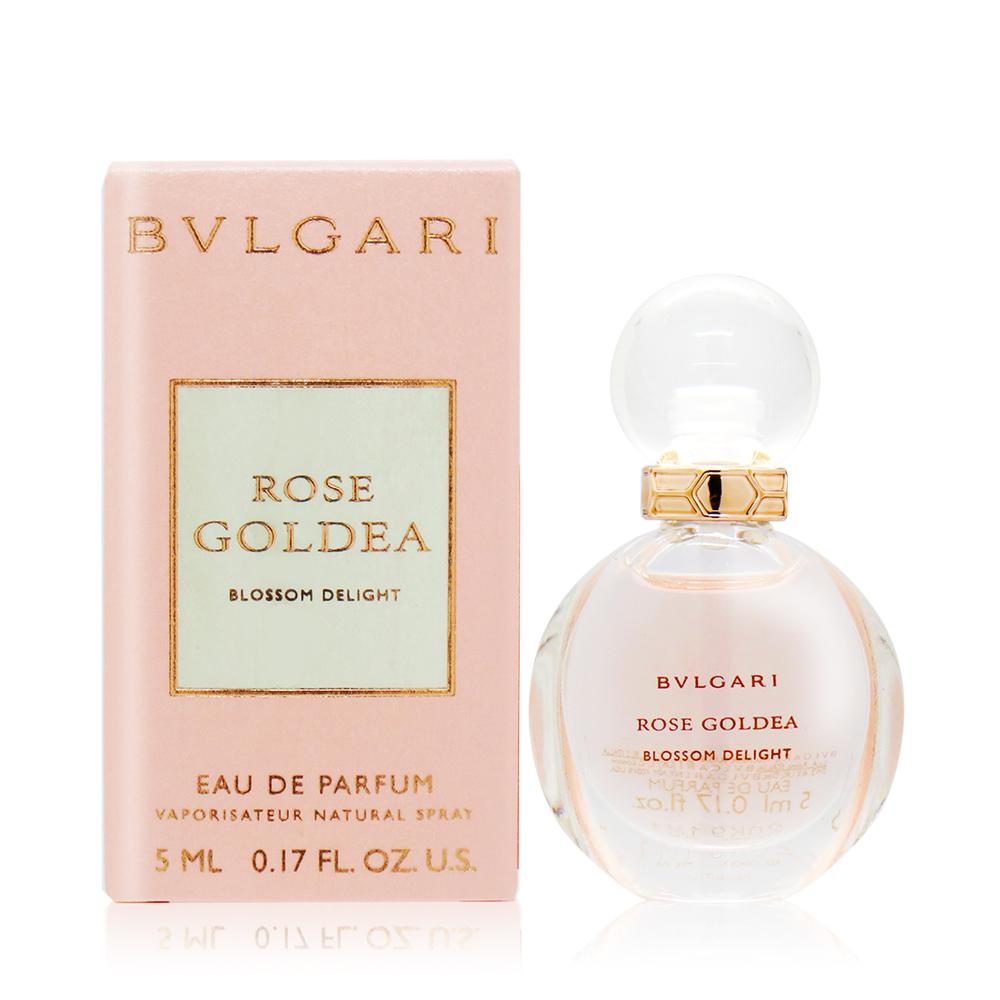 BVLGARI 寶格麗 歡沁玫香女性淡香精 Rose Goldea Blossom Delight(5ml) EDP-香水隨身針管試香