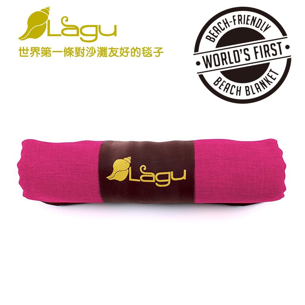 【澳洲Lagu】快乾防沙毯 (桃紅色)