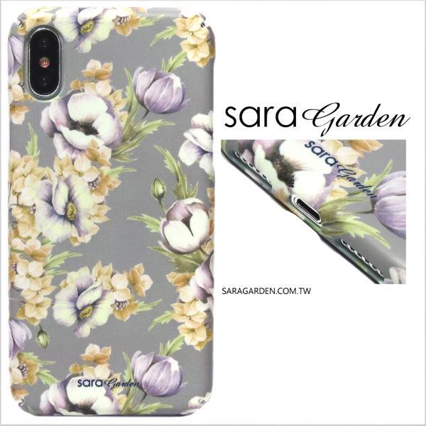 【Sara Garden】客製化 全包覆 硬殼 蘋果 iPhone 6plus 6SPlus i6+ i6s+ 手機殼 保護殼 清新碎花